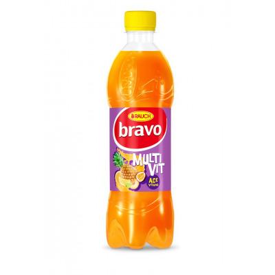 Bravo Multivit 12% 0,5 l PET