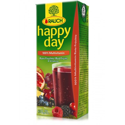 HAPPY DAY Multivitamín RED 100% 0,2l  27TP