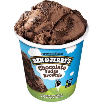 Chocolate fudge brownie 465ml
